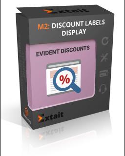 Discount Labels Display M2