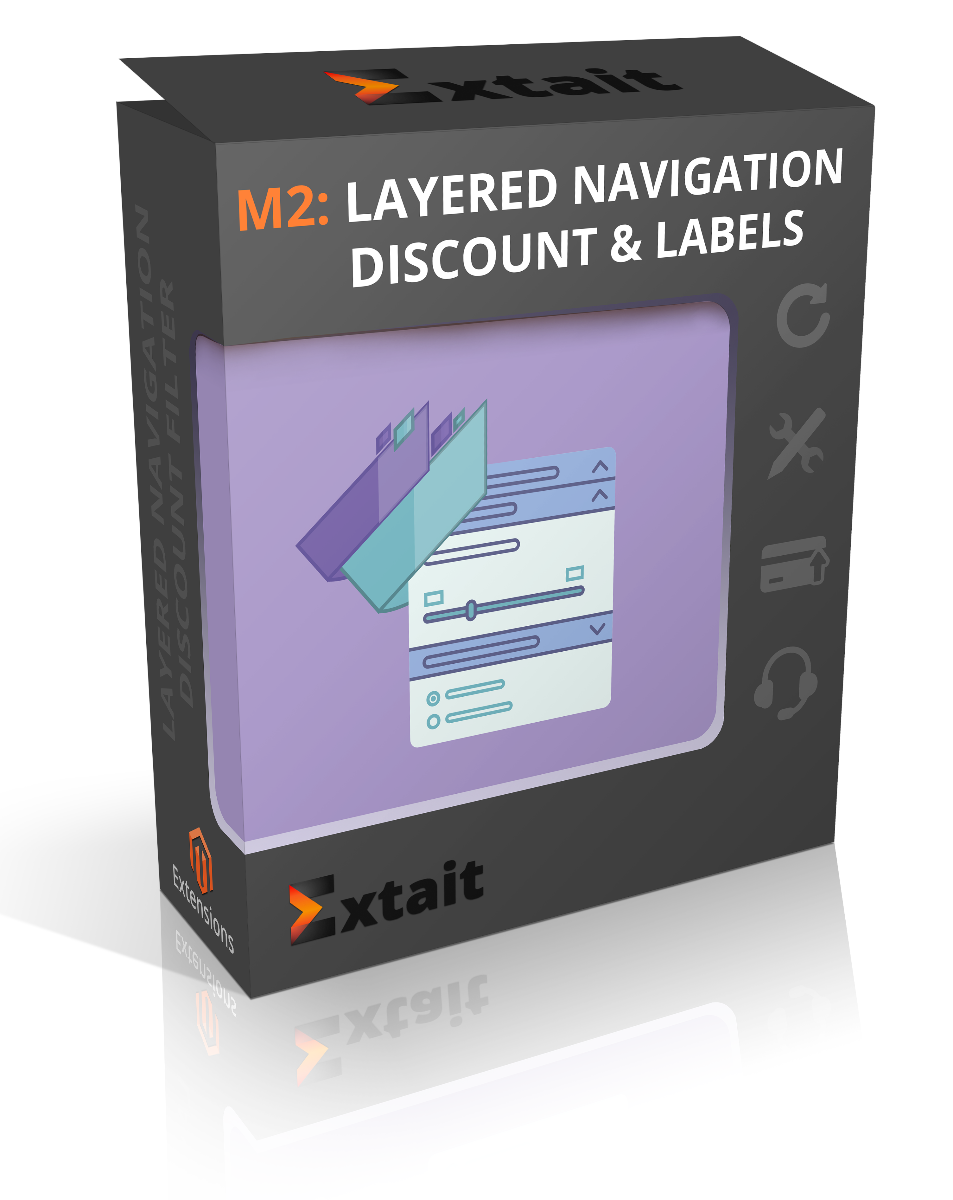 Layered Navigation Discount Filter and Discount Labels Magento 2 Extension