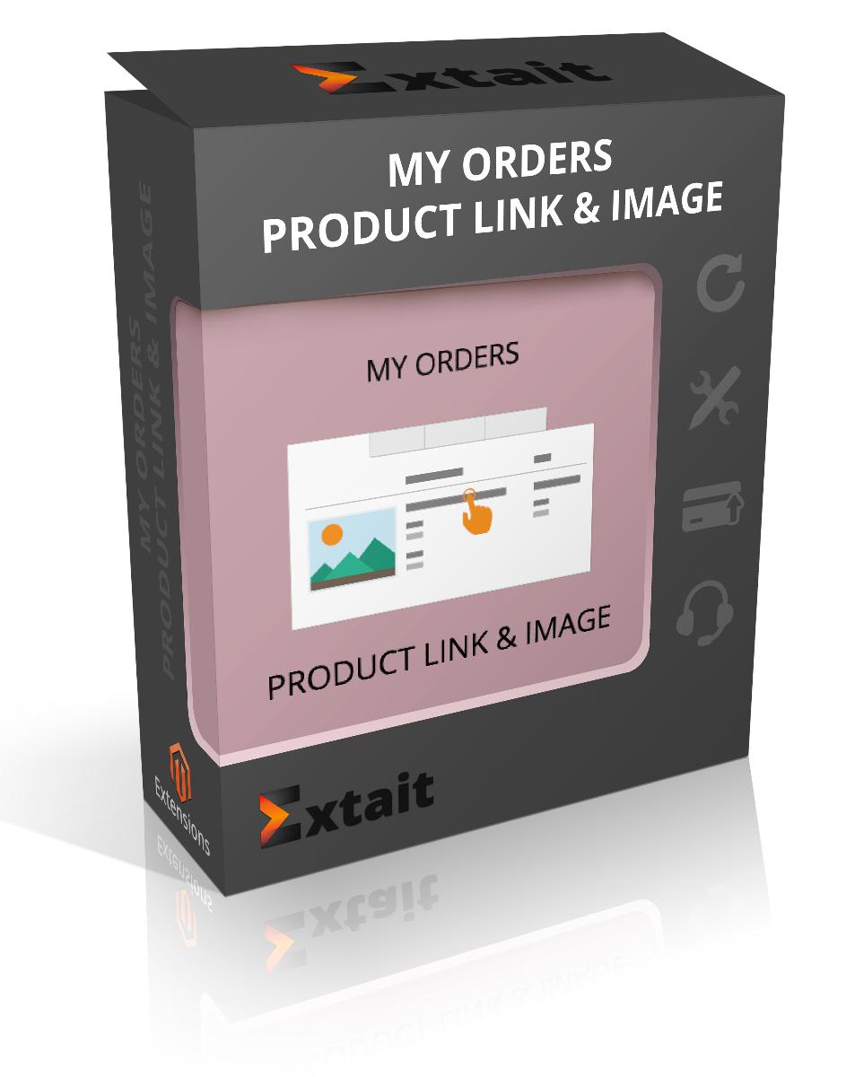 My Orders Link & Image M2