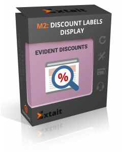 Discount Labels Display