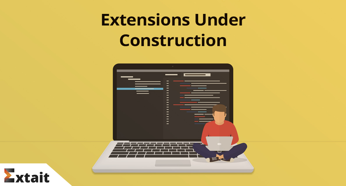 New Magento 2 extensions under construction