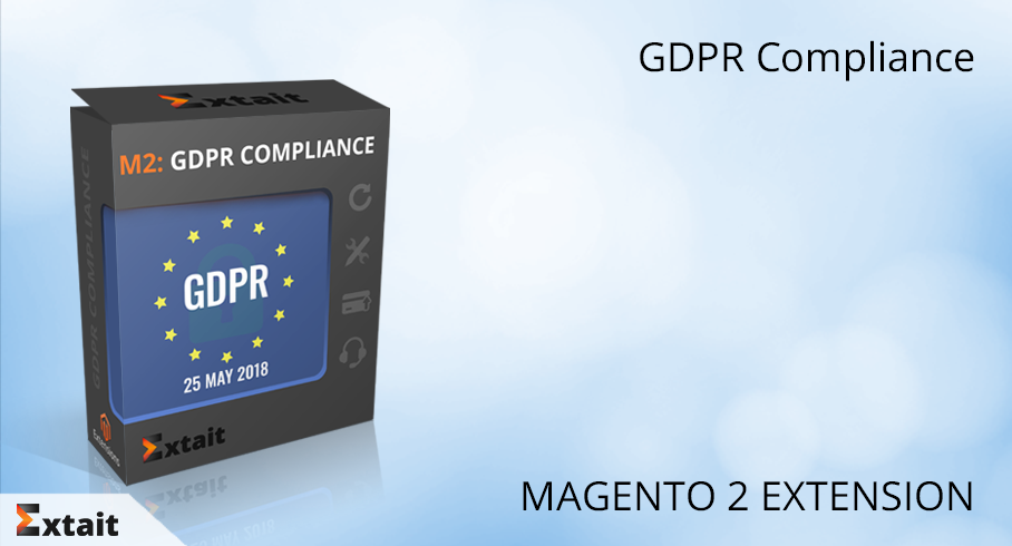 Magento 2 extension to make your store prepared for GDPR