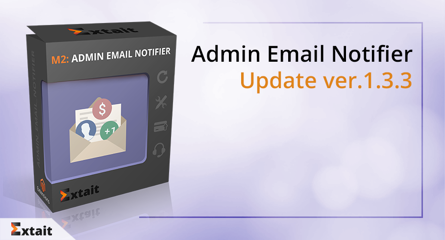 Admin Email Notifier Update ver. 1.3.3