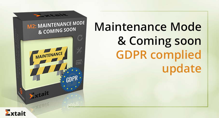 Welcome Maintenance Mode & Coming Soon Update. Now GDPR Compliant!