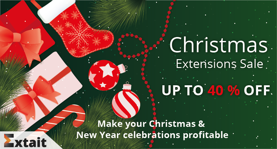 Christmas Sale 2018 - Magento 2 Extensions