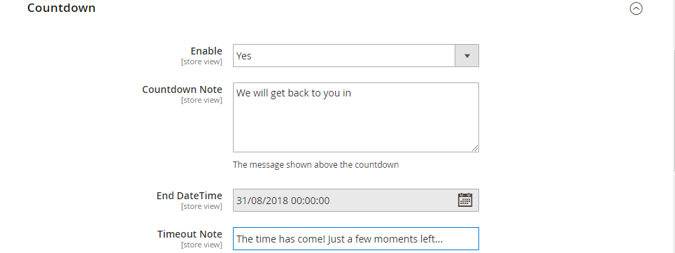 Counter Countdown